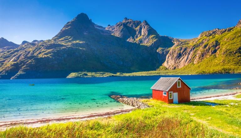 Norwegen Lofoten Rundreisen Skandinavien