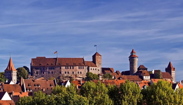 Nürnberg Burg Städtereisen