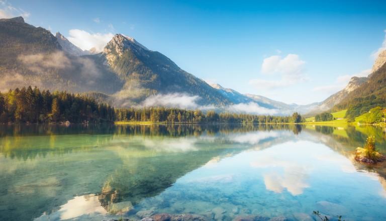 Die Österreicher Alpen - Ein Grund von vielen für eine Reise nach Österreich.