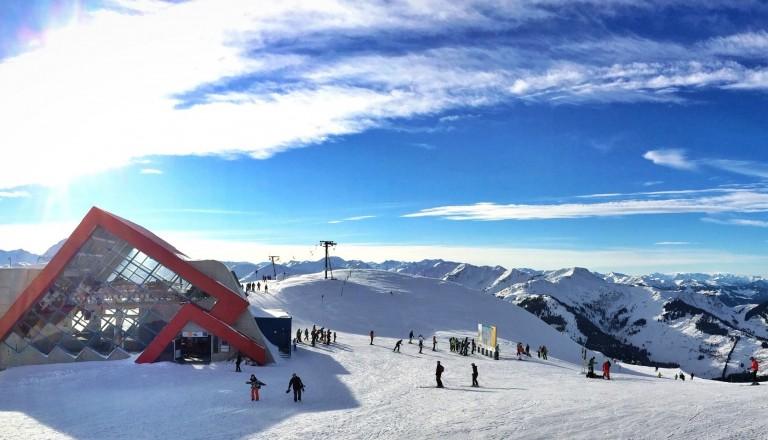 Skigebiete in Kitzbühel, Österreich Skiurlaub.