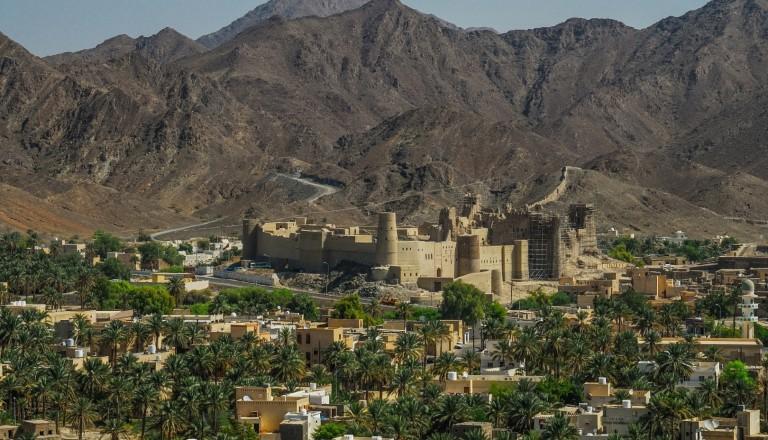 Weltkulturerbe: Die Festung Hisn Tamah.