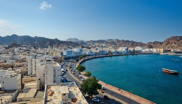 Muscat - Die Haupstadt des Oman.