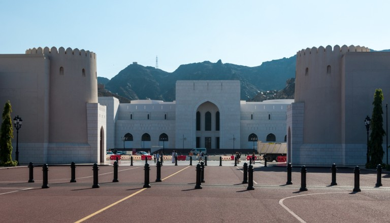 Das Nationalmuseum in Maskat, Oman