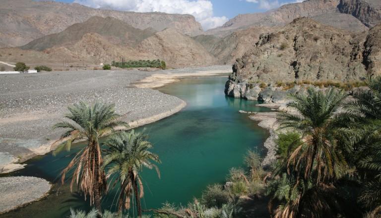 Oman Reisen Grüne Oase