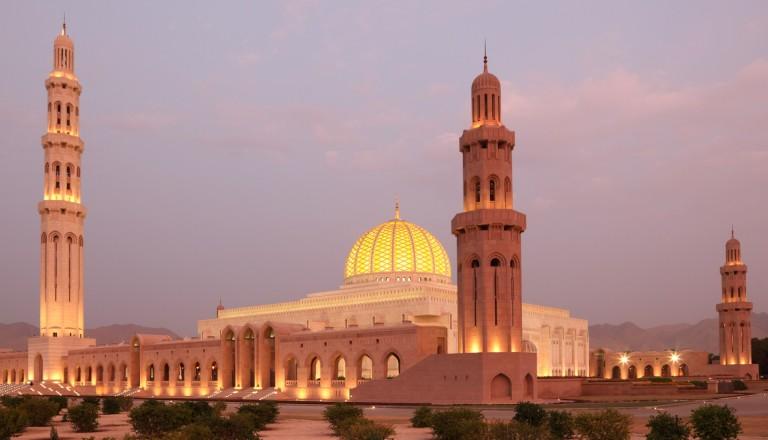 Die Große Sultan-Qabus-Moschee in Maskat.