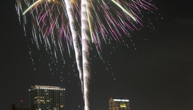 Besondere Veranstaltungen in Orlando. Städtereisen. Feuerwerk.
