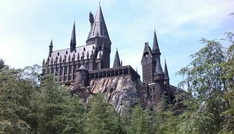Hogwarts im Universal Freizeitpark von Orlando.
