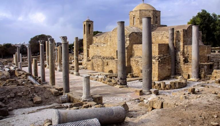 Der Archäologische Park von Paphos.