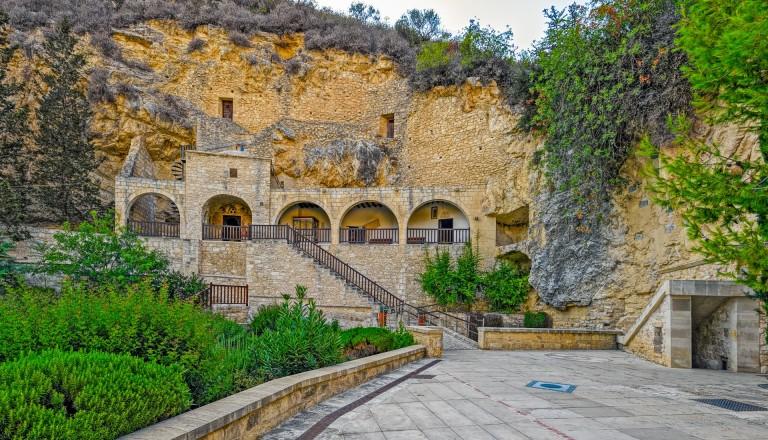 Das Kloster Neophytus von Paphos.