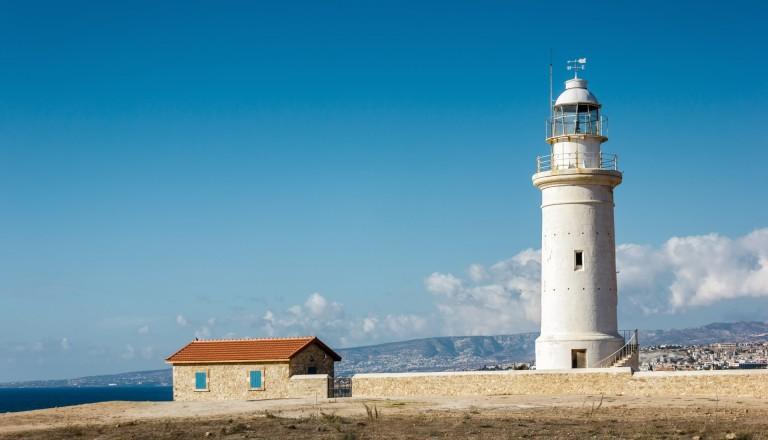 Paphos Städtereisen Leuchtturm