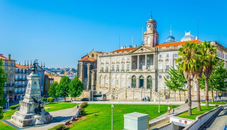 Der Palacio da Bolsa in Porto.