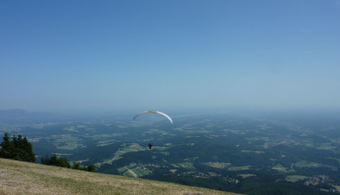 Paragliding in Graz