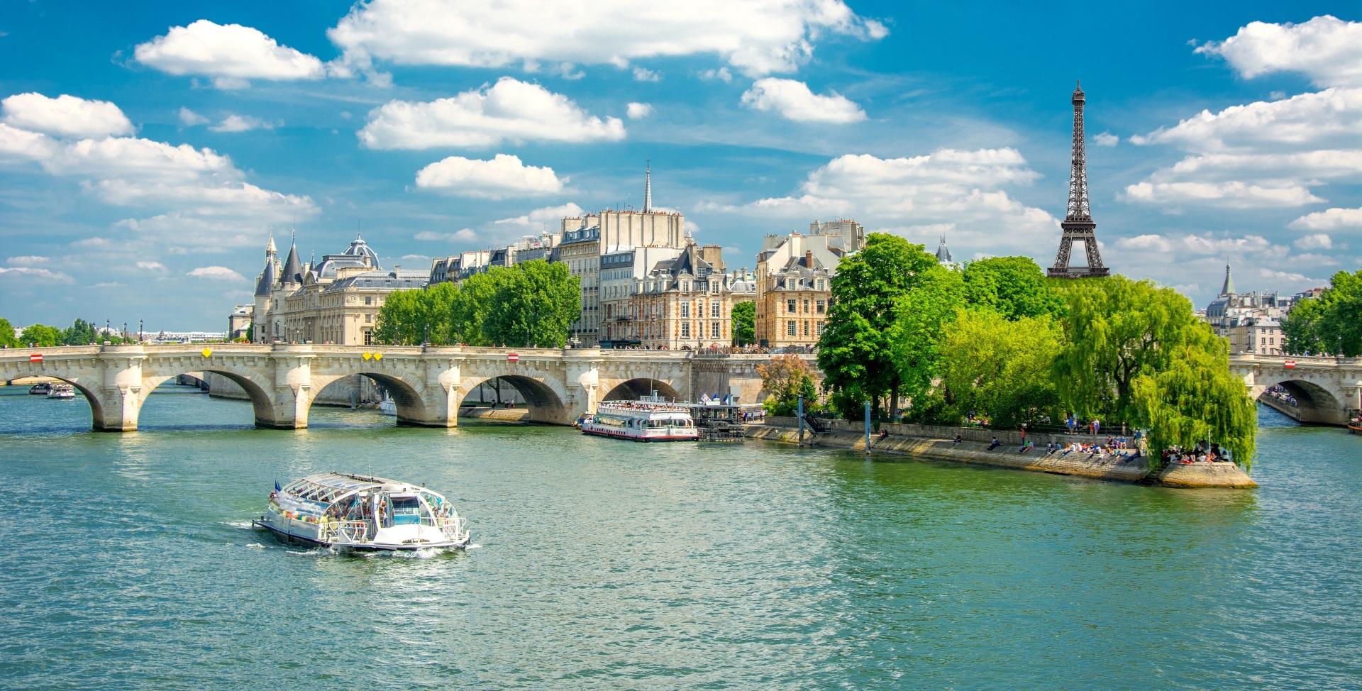 Paris - Die Metropole an der Seine.
