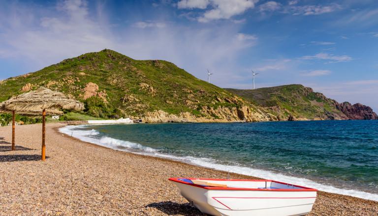 Strand auf Patmos
