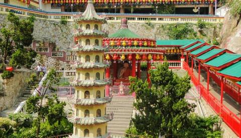 Der Tempel des höchsten Glücks in Penang.