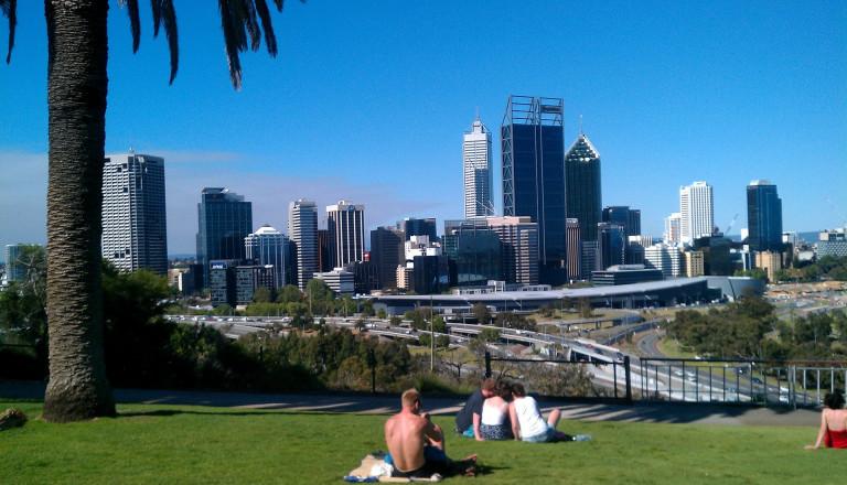 Perth die Hauptstadt von Western Australia: eine entspannte Metropole.