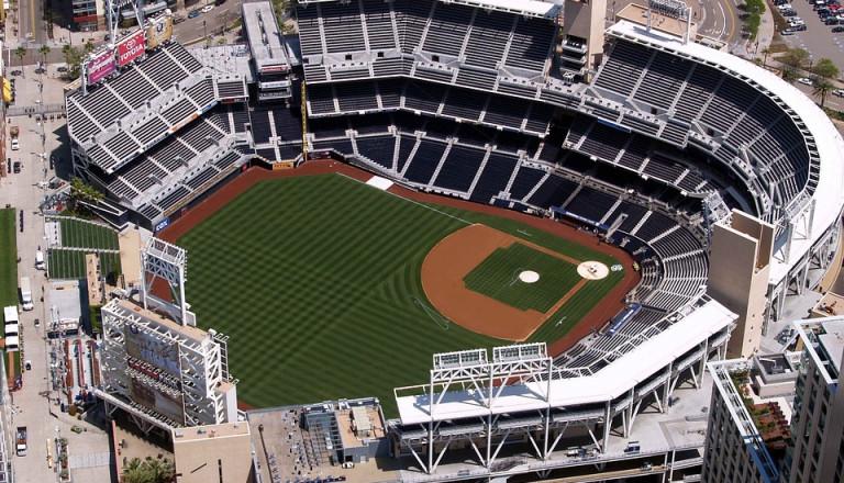 Der Petco Ball Park von San Diego.