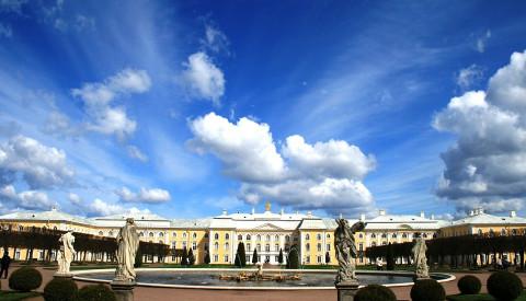 Der Peterhof in St. Petersburg