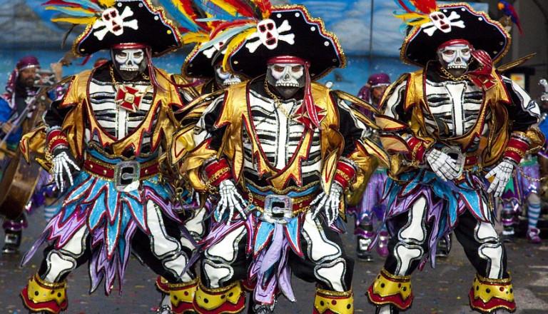 Kostümfestival in den Straßen von Philadelphia