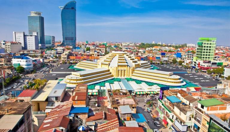 Phnom Penh Psar Thmei Kambodscha