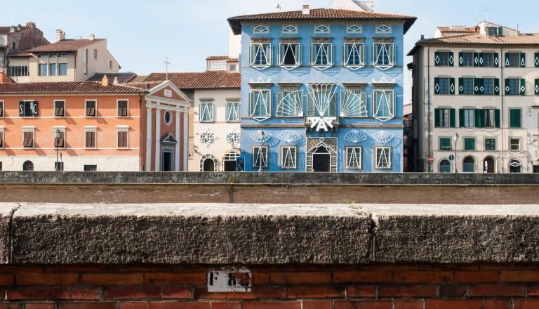 Der Palazzo Blu in Pisa Kultur