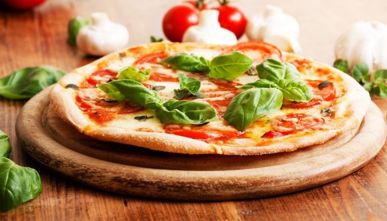 Essen auf Reisen Pizza Margerita