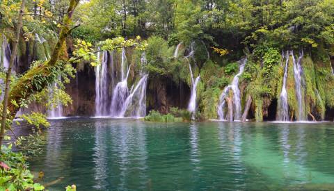 Die Plitvicer Seen gehören zum UNESCO-Weltnaturerbe.