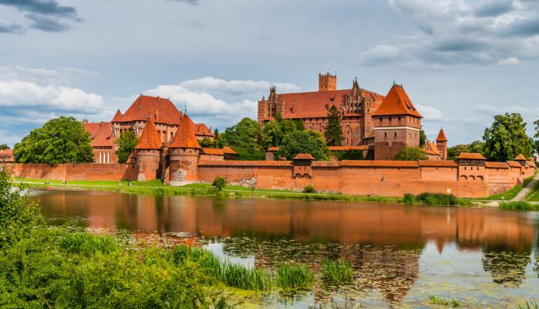 Europas größter Backsteinbau: Die Marienburg in Polen!