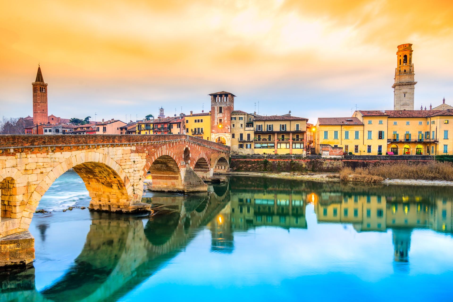 Ponte di Pietra in Verona