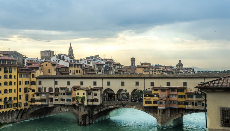 Die unverwechselbare Ponte Vecchio