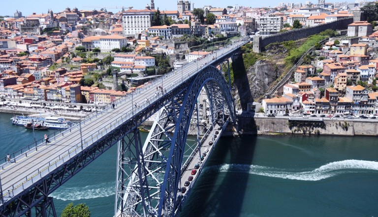 Die Ponte Dom Louis I, Porto.