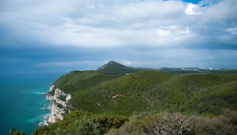 Das Naturschutzgebiet Sierra Arrabida in Portugal