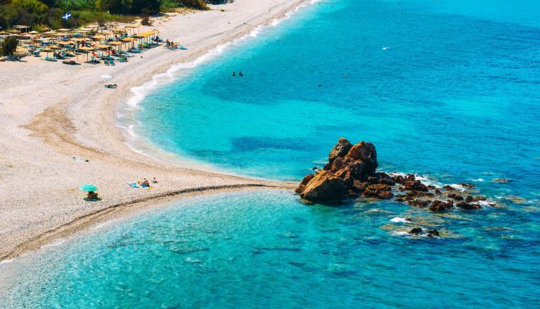 Potami Beach auf Samos