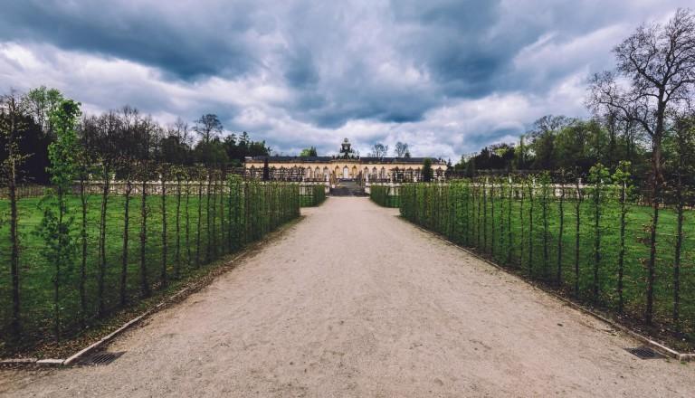 Die Bildergalerie im Park von Sanssouci. Potsdam