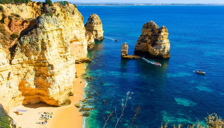 Praia de Marinha Portugal algarve