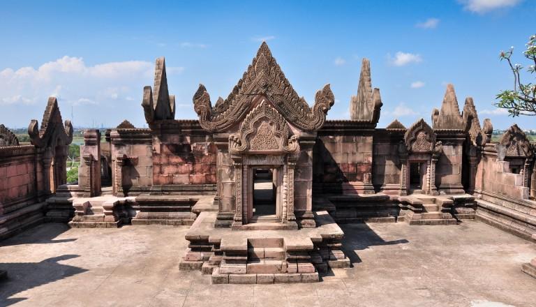 Prasat Preah Vihear Tempel in Kambodscha.