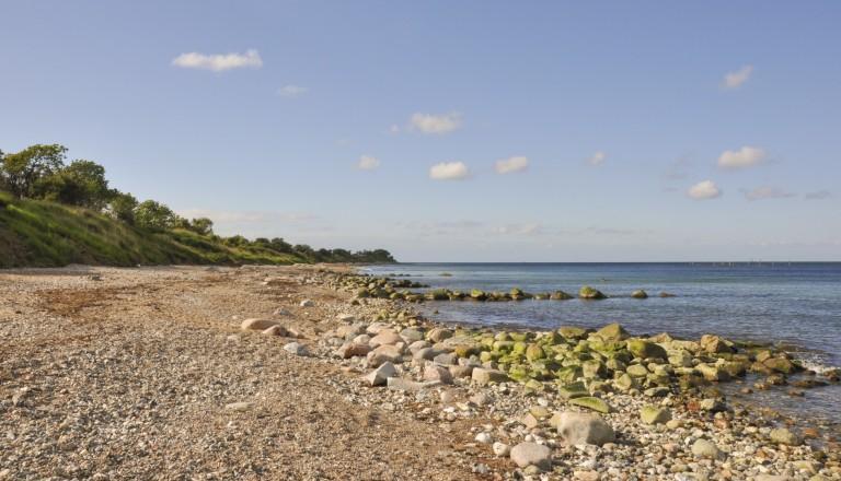Die Küste bei Puttgarden auf Fehmarn.