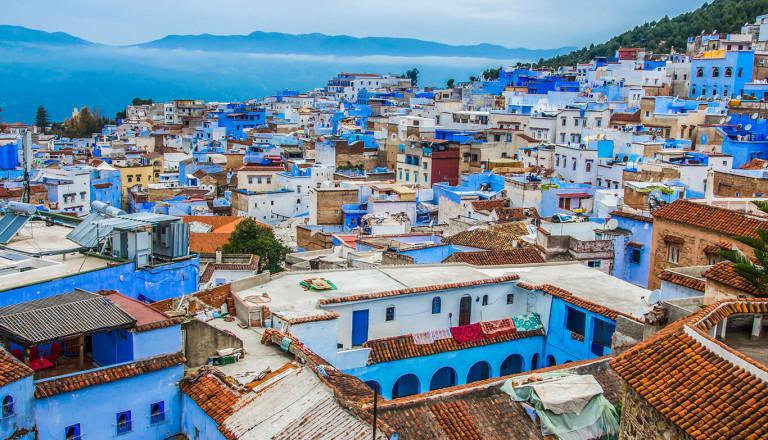 Reise nach Marokko