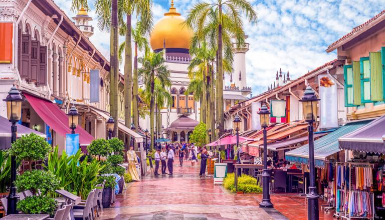 Reisen nach Singapur