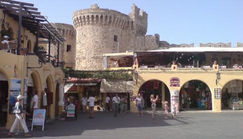 Die Altstadt von Rhodos wurde zum Weltkulturerbe erklärt.