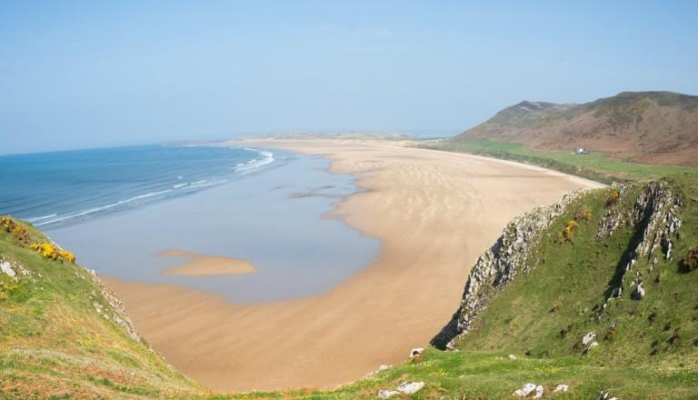 Rhossily Bay Wales