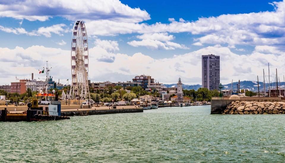 Rimini Hafen