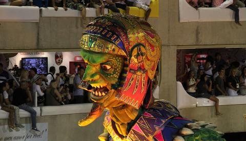 Das hervorstechenste Event in Rio ist natürlich der Karneval.