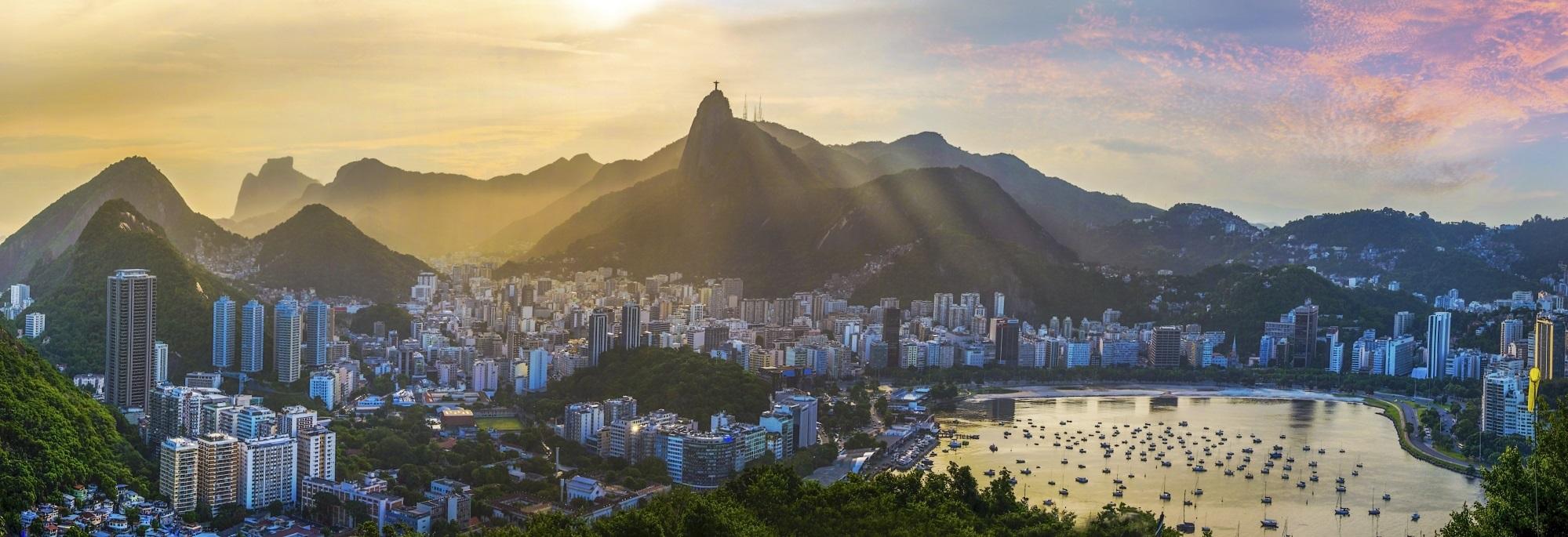 Rio de Janeiro Panorama Weltwunder
