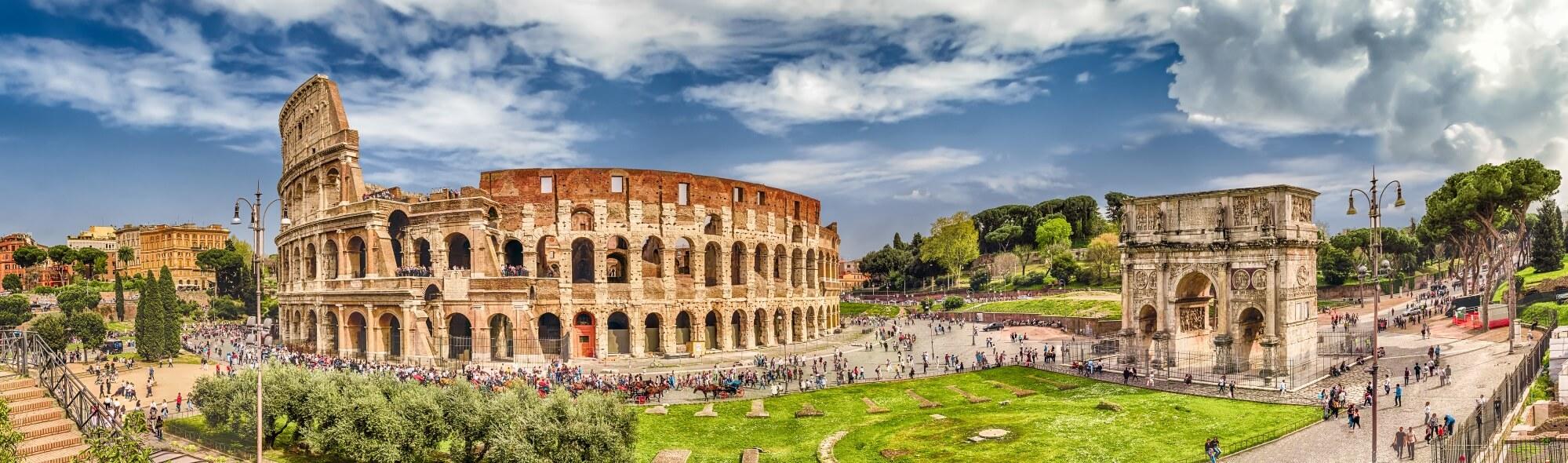 Rom Kolosseum Panorama