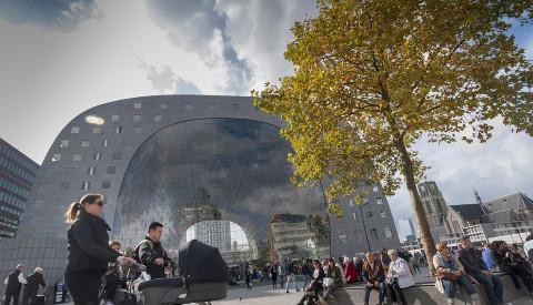 Rotterdams Markthalle ist kulinarisch und architektonisch ein Genuss.