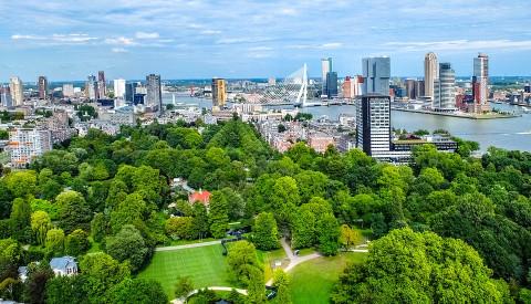 Besuchen Sie die grüne Seite Rotterdams.