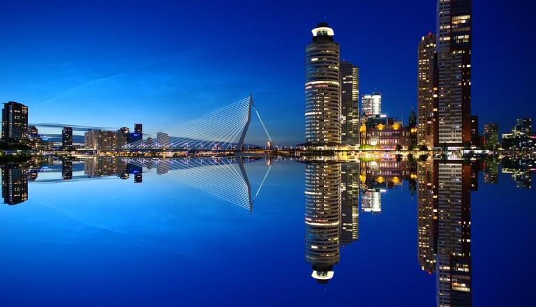 Städtereisen nach Rotterdam, Skyline