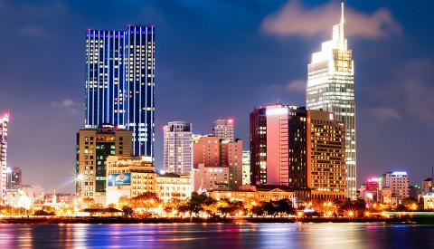 Ho Chi Minh Stadt in Vietnam