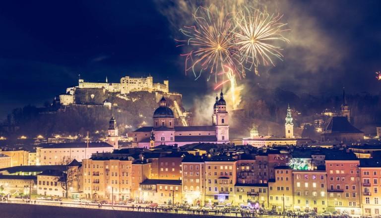 Salzburg Feuerwerk